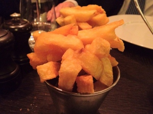 Not just any triple-cooked chips..