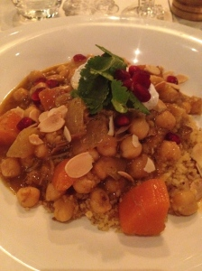 The Lamb Tagine.