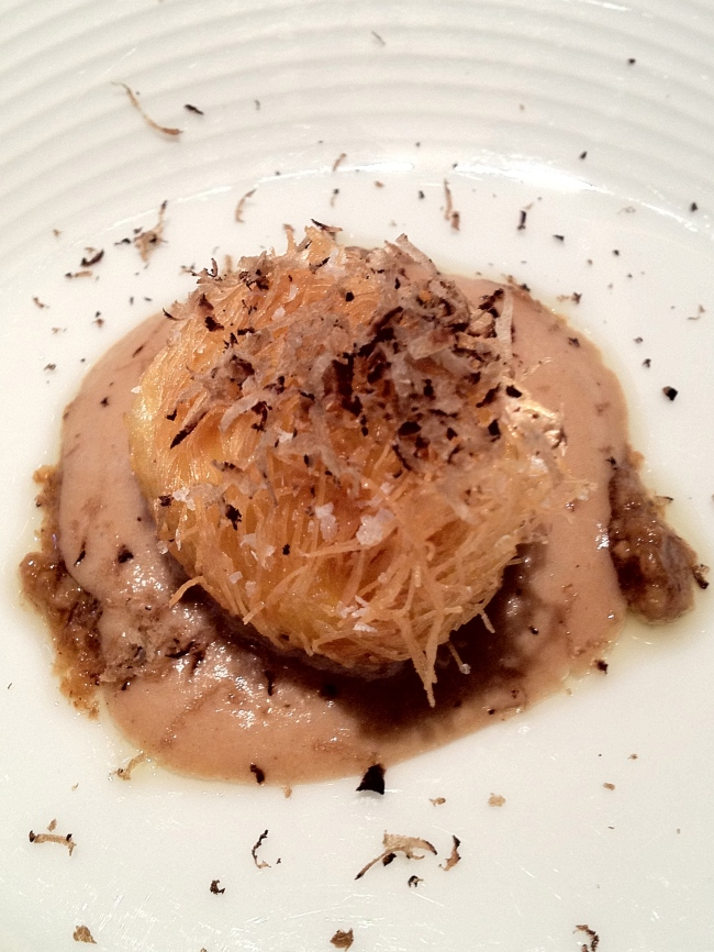 Egg, truffle, gorgeous