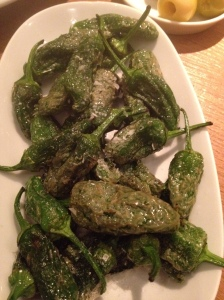 Padron peppers. The photo doesn't do them justice