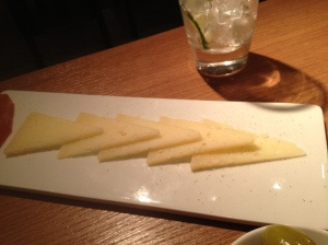 Manchego. I can't get excited
