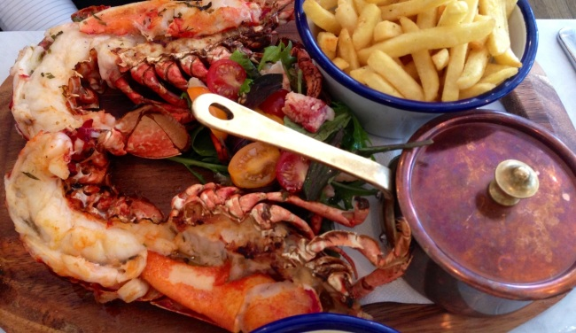 Lobster loveliness