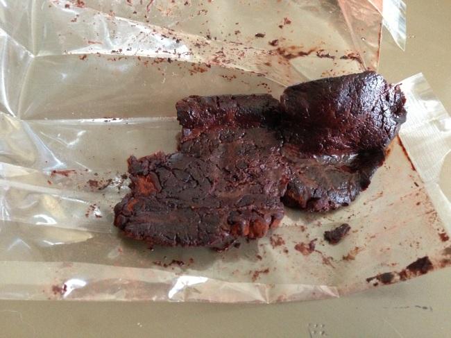 Chocolates in my bag. I still ate them.