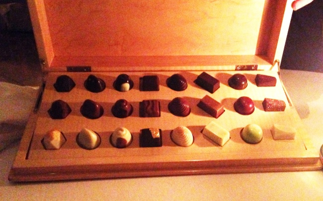 Chocolates. Because we really needed.
