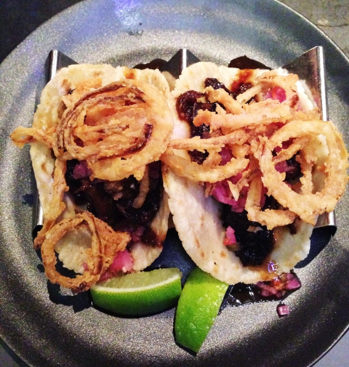 Superlative, spectacular , stunning Shortrib tacos of deep joy