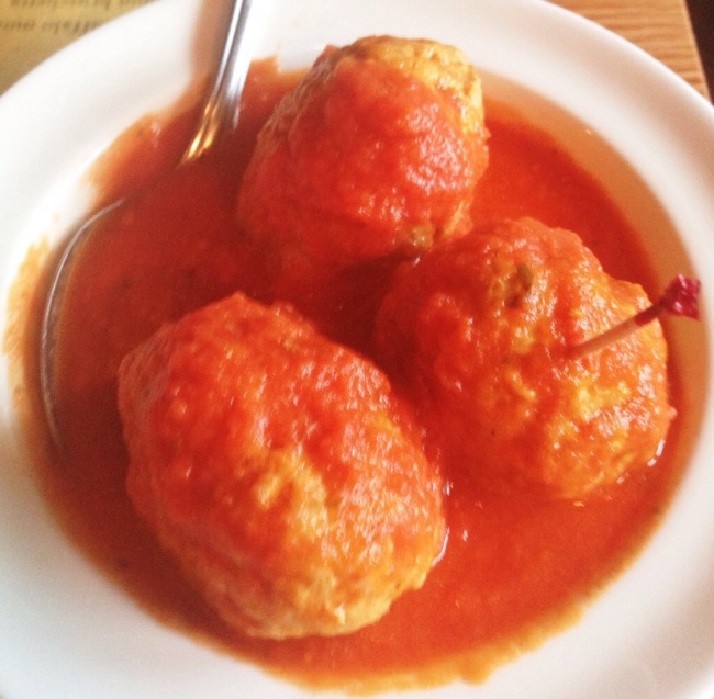 Meatballs. Tasty tasty very very tasty.