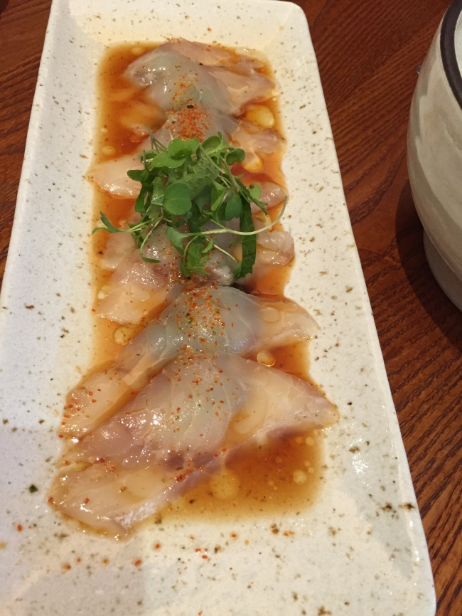 Hamachi. One good dish.