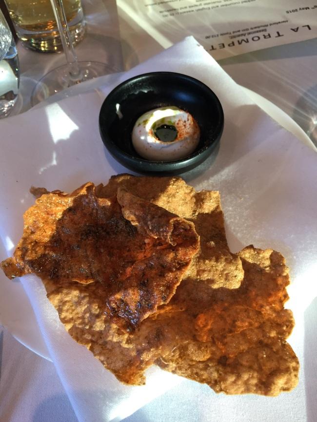 Seaweed cracker.