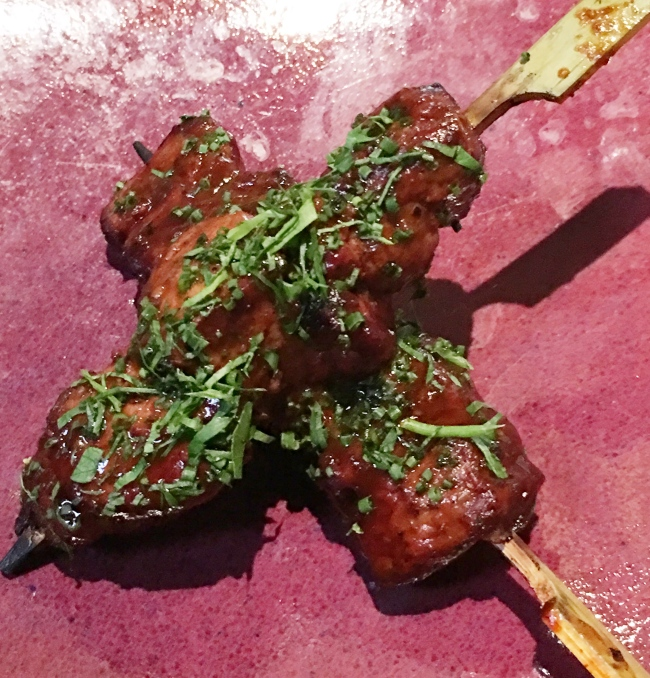 Anticuchos. Skewers to you.